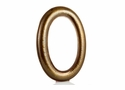 Dessau Home Antiqued Brass Hammered Oval Wall Mirror
