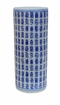 Dessau Home Blue & White Calligraphy Umbrella Stand