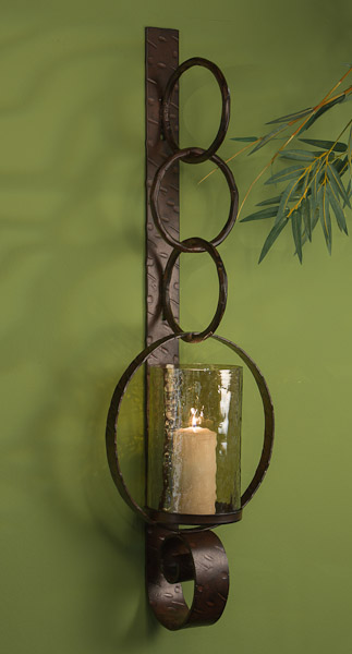 Dessau Home Bronze Ring Wall Sconce Home Decor