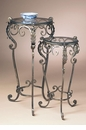 Dessau Home Bronze Set Of 2 Scroll Tables