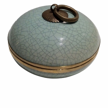 Dessau Home Celadon Convex Box