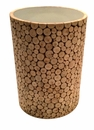 Dessau Home Eucalyptus Round Accent Table