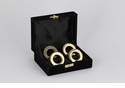 Dessau Home Gold Ring Napkin Ring Set of 4