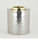Dessau Home Gold Ring Round Tissue Box
