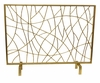 Dessau Home Gold Twig Fire screen