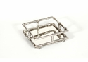 Dessau Home Nickel Bamboo Cocktail Napkin Tray