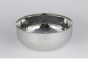 Dessau Home Nickel & Gold Bead Salad Bowl