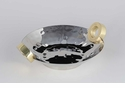 Dessau Home Nickel & Gold Ring Centerpiece