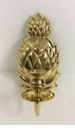Dessau Home Polished Brass Pineapple Sconce