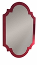 Dessau Home Red Asian Chippendale Mirror