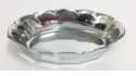 Dessau Home Silver Scalloped Oval Centerpiece