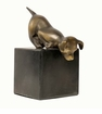 Dessau Home Dog On Marble Base Home Decor