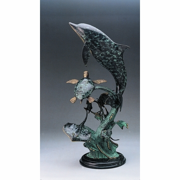 Dolphin Seaworld Sculpture by SPI Home