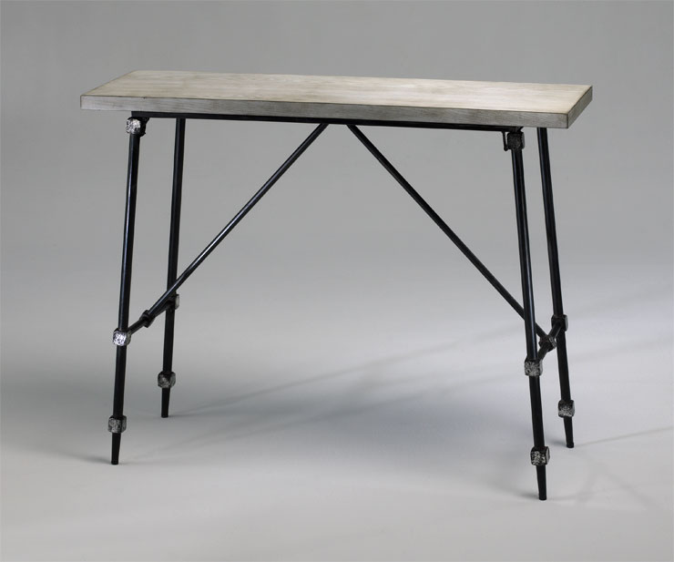 Marvelous 12 Inch Wide Console Table Doris Iron Console Table By Cyan Design .