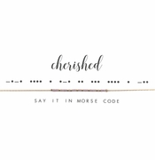 Dot & Dash Necklace - Cherished