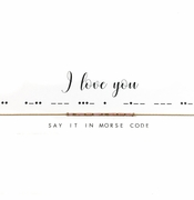 Dot & Dash Necklace - I Love You