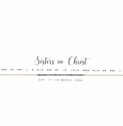 Dot & Dash Necklace - Sisters in Christ