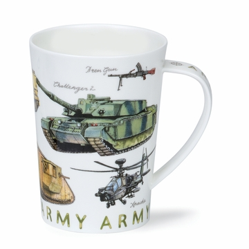 Dunoon Argyll Armed Forces Army 17.6oz Mug