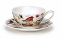 Dunoon Birdlife Tea for One Cup and Saucer Set