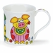 Dunoon Bute The Good Life Pig 10.1oz Mug