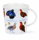 Dunoon Cairngorm Birds and Eggs Game Mug