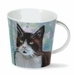 Dunoon Cairngorm Cats on Canvas Brown Mug