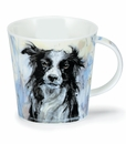 Dunoon Cairngorm Dogs on Canvas Collie Mug