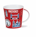 Dunoon Cairngorm London Postcard Mug 16.2oz