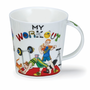 Dunoon Cairngorm My Workout Mug