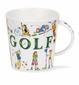 Dunoon Cairngorm Sporting Antics Golf Mug (16.2 oz)