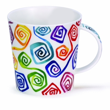 Dunoon Cairngorm Squirl Mug - Square