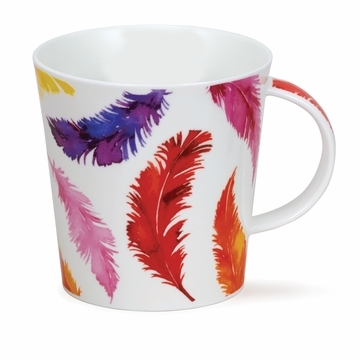 Dunoon Cairngorm Tickle Red Mug