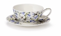 Dunoon Dovedale Harebell Tea for one Cup and Saucer Set