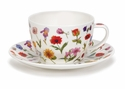 Dunoon Flora Breakfast Cup and Saucer Set