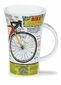 Dunoon Glencoe Bike Anatomy Mug 16.9oz