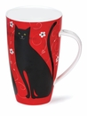 Dunoon Henley Tall Tails Black 20oz Mug