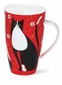 Dunoon Henley Tall Tails Black And White 20oz Mug