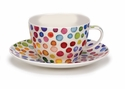 Dunoon Hot Spots Breakfast Cup and Saucer Set