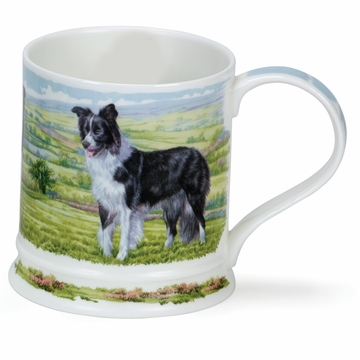 Dunoon Iona Country Dogs Collie 13.5oz Mug
