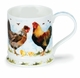 Dunoon Iona Farmyard Cockerel Mug