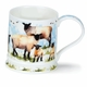 Dunoon Iona Farmyard Sheep Mug