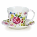 Dunoon Islay Wild Garden Rose Cup & Saucer