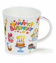 Dunoon Lomond Happy Birthday Mug
