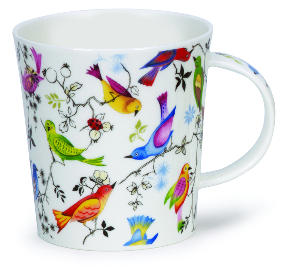 dunoon lomond paradise bird mug 25 2 you save. Black Bedroom Furniture Sets. Home Design Ideas