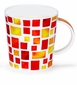 Dunoon Lomond Piazza Red Mug
