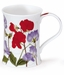 Dunoon Mug Red Sweet Pea Mug (11.1 Oz)