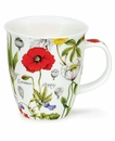 Dunoon Nevis Floral Diary Poppy Mug