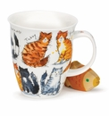 Dunoon Nevis Messy Cats Mug 16.2oz