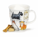 Dunoon Nevis Messy Dogs Mug 16.2oz
