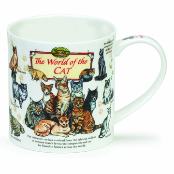 Dunoon Orkney World of the Cat Mug